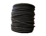 SANDOW • Noir Ø 8 mm - bobine de 100 m-textile