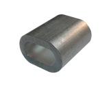 MANCHON ALU • Ø 6 mm sac de 100 pour câble 5,5 mm-structure-machinerie