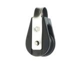 POULIE SIMPLE • à billes Ø 4 mm avec anneau charge de travail 240Kg