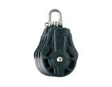 POULIE TRIPLE • Ø 8 mm avec émérillon manille charge de travail 560Kg-poulies