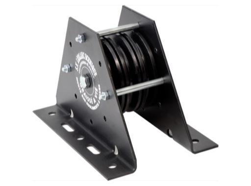 TEMA • Poulie machinerie 3 voies Ø 100 pour câble Ø4 maxi