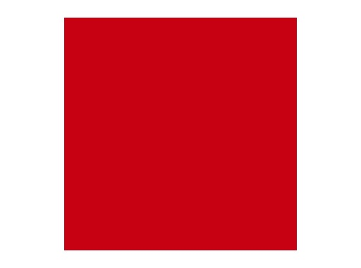 LEE FILTERS • Bright red - Feuille 0,53m x 1,22m