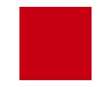 Filtre gélatine LEE FILTERS Bright red 026 - feuille 0,53m x 1,22m