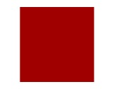 Filtre gélatine LEE FILTERS Médium rouge 027 - feuille 0,53m x 1,22m
