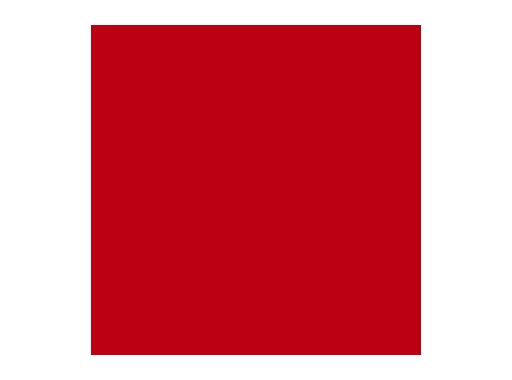 LEE FILTERS • Plasa Red - Feuille 0,53m x 1,22m