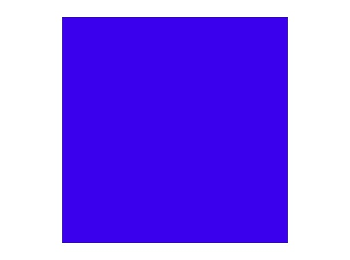 LEE FILTERS • Just blue ht - Feuille 0,50m x 1,17m
