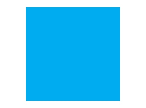 LEE FILTERS • Bright blue ht - Feuille 0,50m x 1,17m