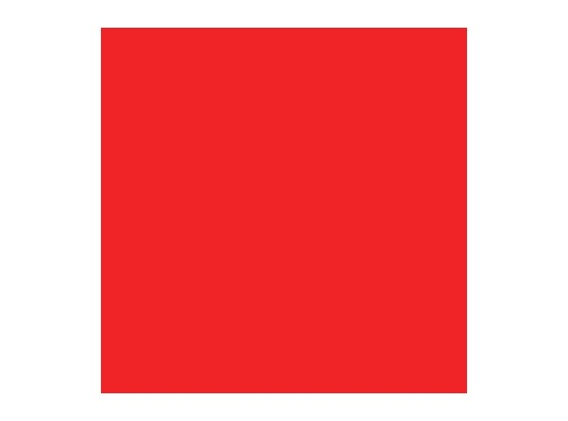 LEE FILTERS • Flame red - Feuille 0,53m x 1,22m