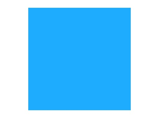 LEE FILTERS • Daylight blue - Feuille 0,53m x 1,22m