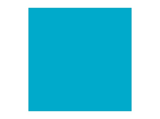LEE FILTERS • Lagoon blue - Feuille 0,53m x 1,22m