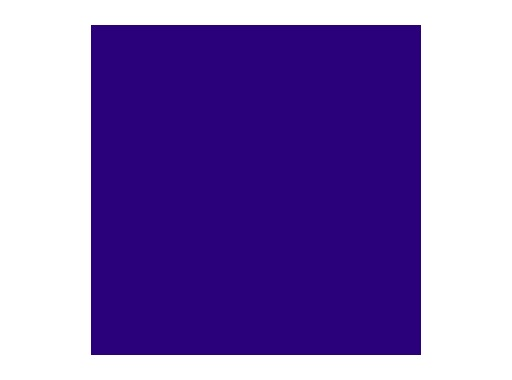 LEE FILTERS • Congo blue - Feuille 0,53m x 1,22m