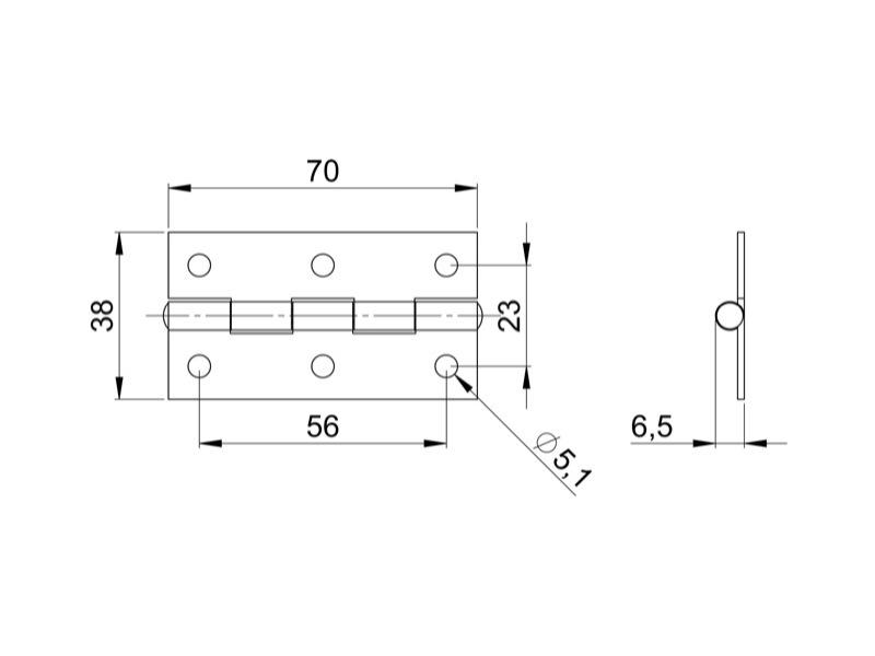 charni re piano flight case. Black Bedroom Furniture Sets. Home Design Ideas