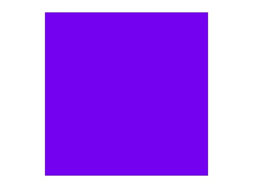 LEE FILTERS • Ultimate violet - Feuille HT 0,50m x 1,17m