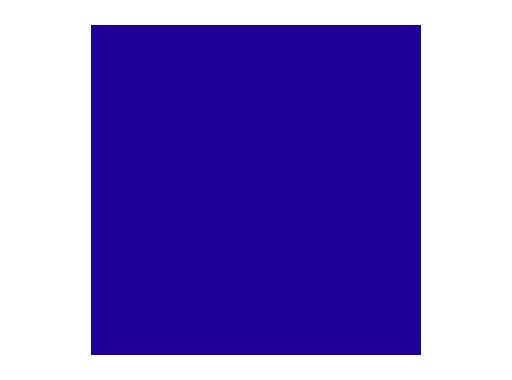 LEE FILTERS • J Winter blue - Feuille 0,53 x 1,22m