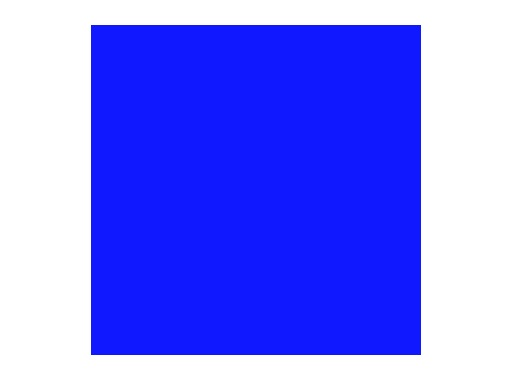 LEE FILTERS • Elysian blue - Feuille 0,53 x 1,22m