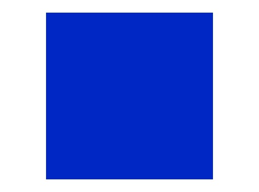 LEE FILTERS • Bray blue - Feuille 0,53m x 1,22m