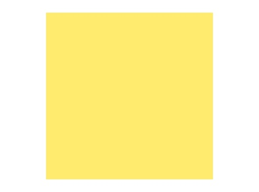 LEE FILTERS • Lee yellow - Feuille 0,53 x 1,22m