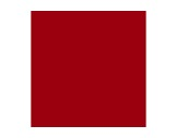 Filtre gélatine LEE FILTERS Blood red - rouleau 7,62m x 1,22m