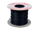 CABLE DE PATCH • Bobine 200 mètres Noir 2x0,22mm ext 3,27mm-cablage