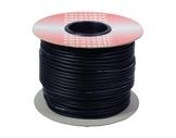 CABLE MICRO • Bobine 100m Câble Sym noir 2x0,22mm ext Ø6mm-cablage