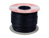 CABLE MICRO • Bobine 100m Câble Sym noir 2x0,22mm ext Ø6mm-audio