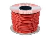 CABLE MICRO • Câble Sym ROUGE 2x0,22mm ext Ø6mm au mètre-cablage