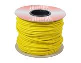 CABLE MICRO • Bobine 100m Câble Sym JAUNE 2x0,22mm extØ6mm-audio