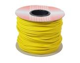 CABLE MICRO • Câble Sym JAUNE 2x0,22mm ext Ø6mm au mètre-cablage
