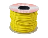 CABLE MICRO • Câble Sym JAUNE 2x0,22mm ext Ø6mm au mètre-audio