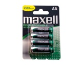 MAXELL • 4 Piles rechargeables blister HR 06 2300 mAh-consommables