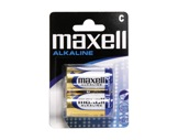 MAXELL • 2 Piles alcalines blister 1,5V Ø26,2 H 50 C-consommables