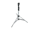 "MANFROTTO • Pied chrome ""Heavy Duty"" jambe réglable 131-333 cm-structure-machinerie"