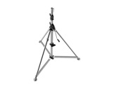 "MANFROTTO • Pied chrome ""Super Wind Up"" 156-366 cm-structure-machinerie"