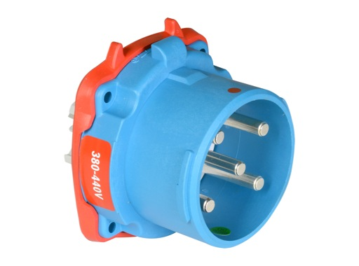 MARECHAL • DS3 Connecteur (Mâle) - IP54 - Poly bleu 3P+N+T 50A 440V
