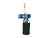 DONATI • Palan Bleu ind. inversé complet 4m/min-250 kg-12m de chaîne -palans