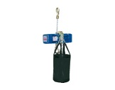 DONATI • Palan Bleu ind. inversé complet 4m/min-250 kg-15m de chaîne -palans