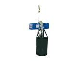 DONATI • Palan Bleu ind. inversé complet 4m/min-500 kg-12m de chaîne -palans