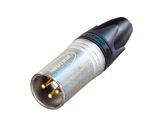 NEUTRIK • Fiche XLR3 mâle protection electromagnétique, série XX-neutrik