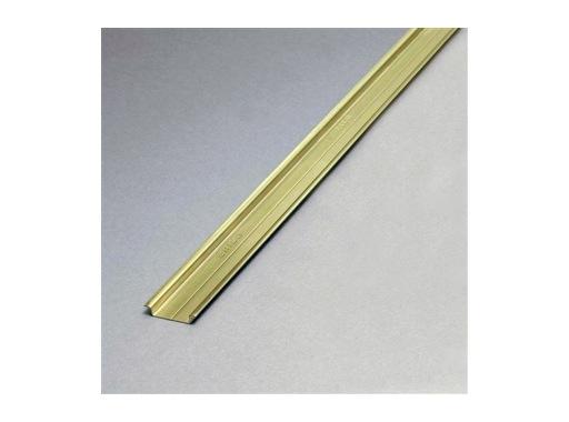 RAIL OMEGA • Profil Acier en 2m, 35 x 7,5 mm