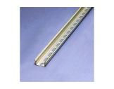 RAIL OMEGA • Profil Acier Percé en 2m, 35 x 7,5 mm-cablage