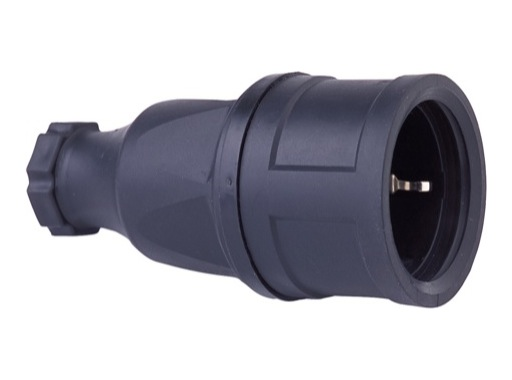 Fiche femelle • IP44 16A Caoutchouc Version Shuko