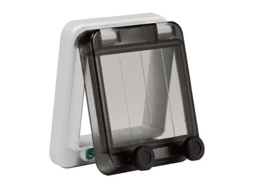 PCE • Fenêtre 85 mm pour 4 disjoncteurs (8 pas de 9mm)
