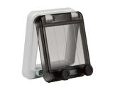 PCE • Fenêtre 85 mm pour 4 disjoncteurs (8 pas de 9mm)-cablage