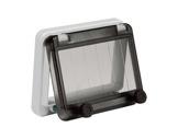 PCE • Fenêtre 121 mm pour 6 disjoncteurs (12 pas de 9mm)-cablage