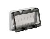 PCE • Fenêtre 157 mm pour 8 disjoncteurs (16 pas de 9mm)-cablage