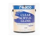 Clear Gloss • Acrylic-textile
