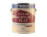 Clear Flat Acrylic - 3,79l-textile