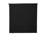 Pendrillon noir L 3m H 7,5m 320g/m2 - TAPS Molleton Coton classé M1-textile