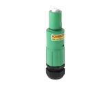 POWERLOCK 400A • Fiche drain Terre Vert Pg29 120° - 1000V-powerlock