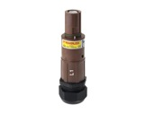 POWERLOCK 660A • Fiche drain Ph1 Marron à sertir 240° PG36 - 1000V